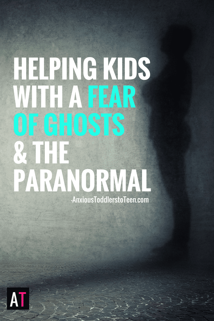 One of the most common worries kids have is the fear of ghosts and the paranormal. Learn how to help your kids who are scared of ghosts, spirits and creepy things!