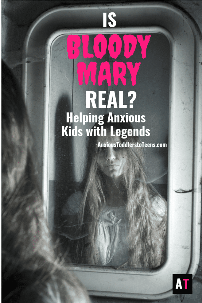 """Do your kids ask, """"Is Bloody Mary real?"""" That is a common fear and I have the perfect answer to give them."""