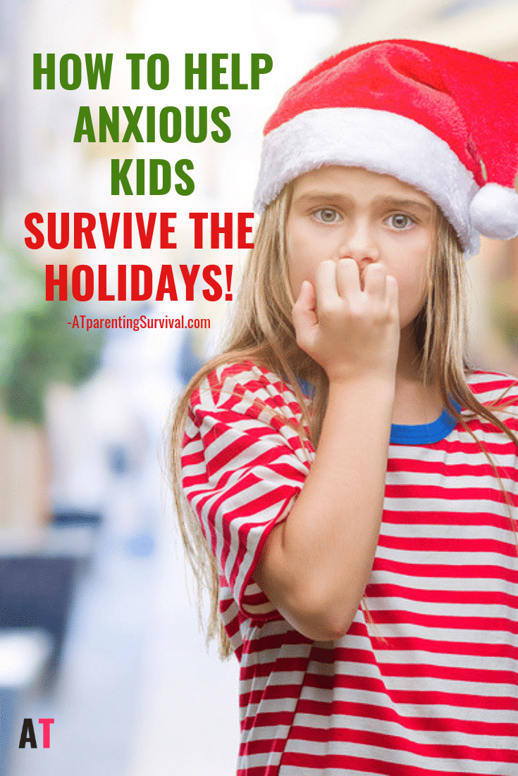 The holidays are supposed to be fun, but sometimes anxious kids can get overwhelmed. Learn how to help anxious kids survive the holidays.