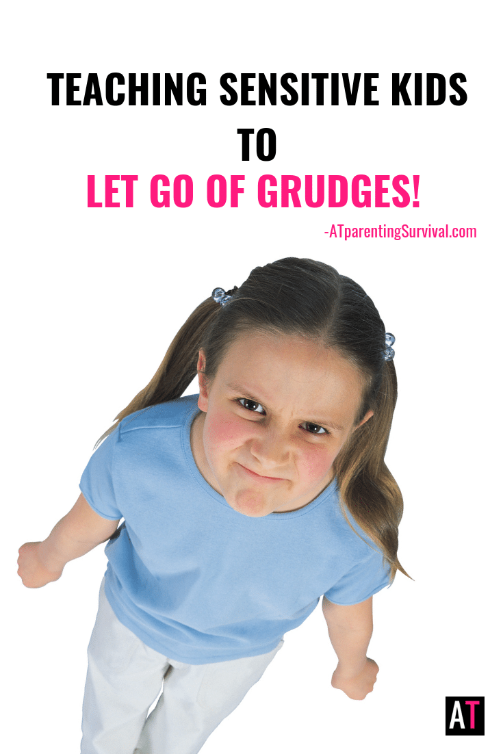 Sometimes sensitive kids have a hard time letting go. This week I am teaching kids how to let go of grudges and enjoy life!