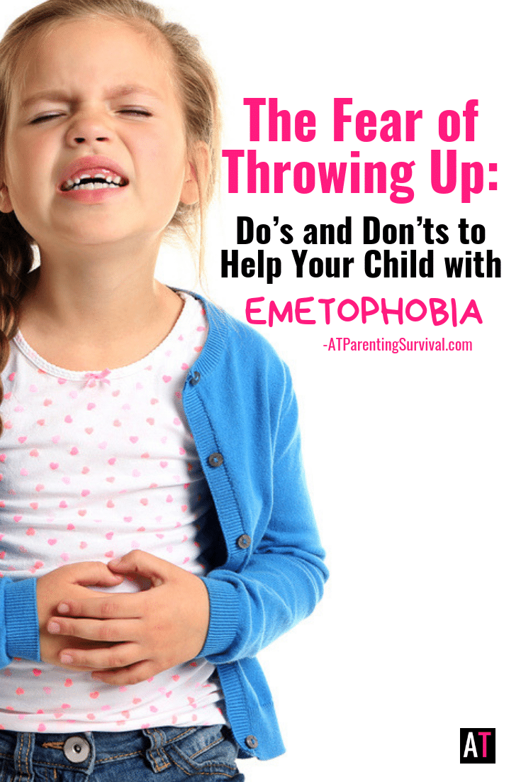 One of the most common anxiety themes is the fear of throwing up – Emetophobia. I am sharing the do's and don'ts when trying to help your child through this fear.