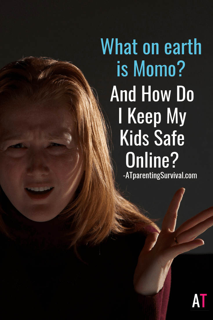 We dive into what is momo and how serious we should take our children's online safety.