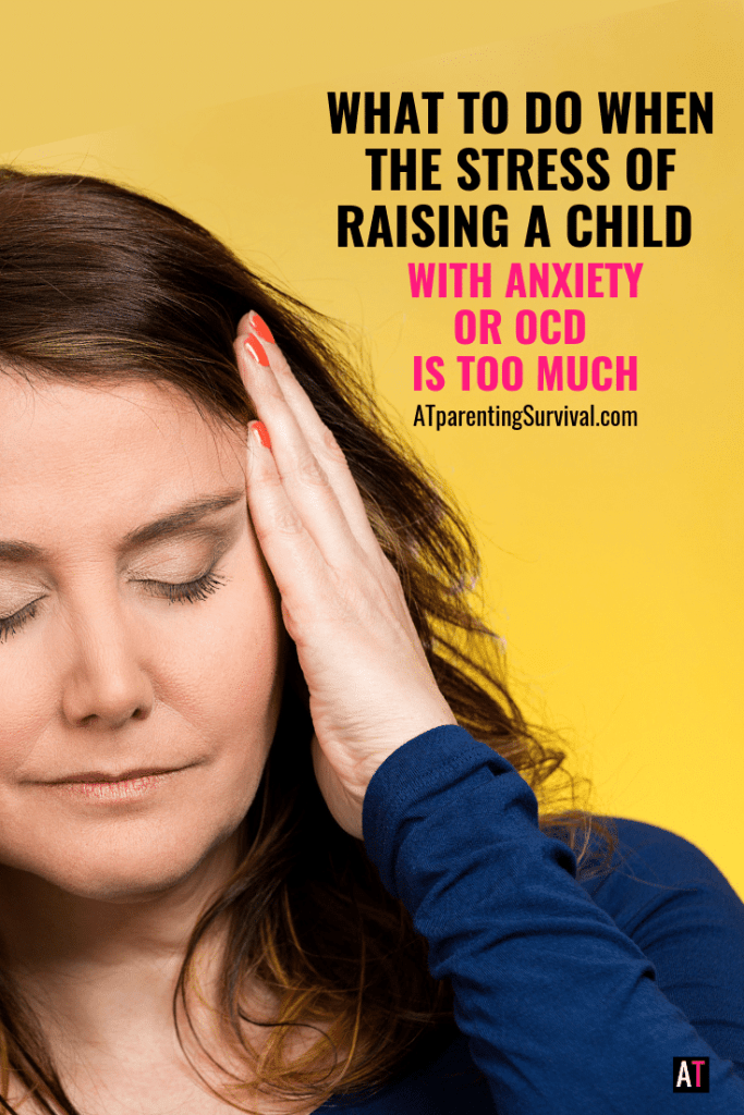 You are not alone. Many parents feel overwhelmed when the stress of raising a child with anxiety or OCD is too much. I talk about how to get through.