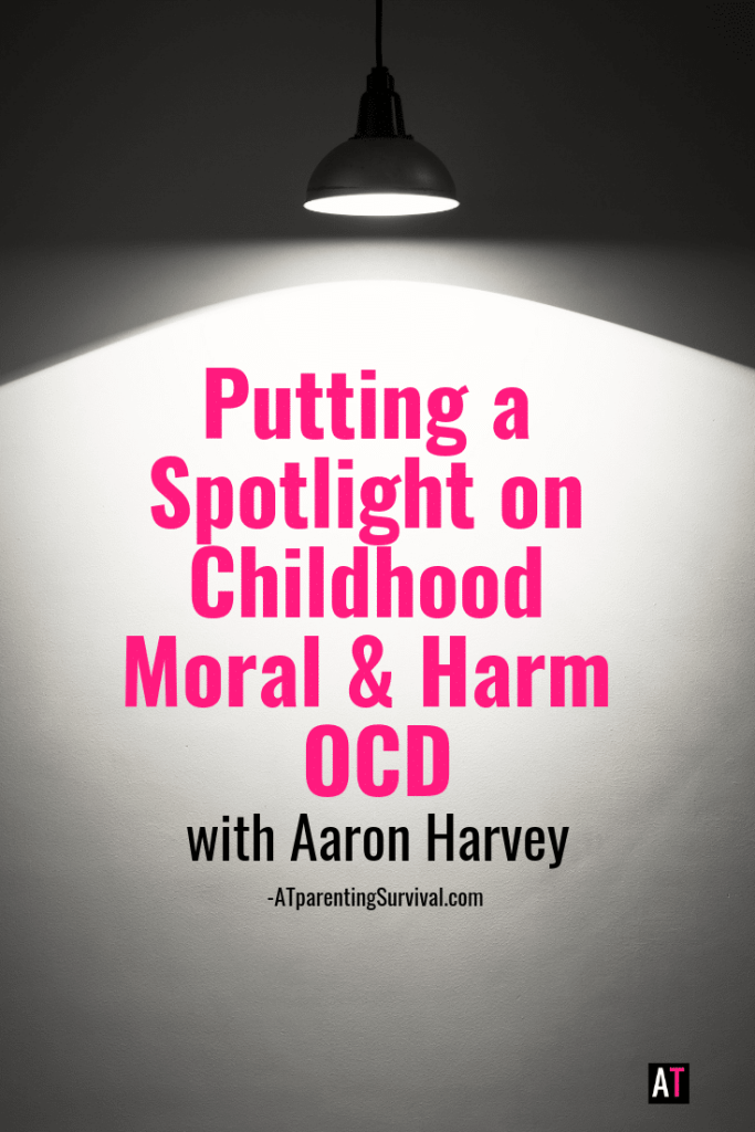 I explore childhood Moral and Harm OCD, as well as OCD in general with Aaron Harvey, the creator of Intrusivethoughts.org and Madeofmillions.com.