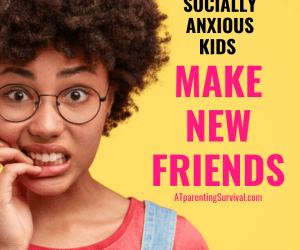 Helping a Socially Anxious or Shy Kid Make New Friends
