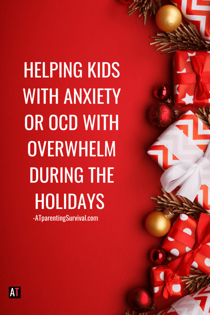 In this week's Kids Youtube video I talk to kids with anxiety and OCD how to handle holiday overwhelm and enjoy their time off with family.