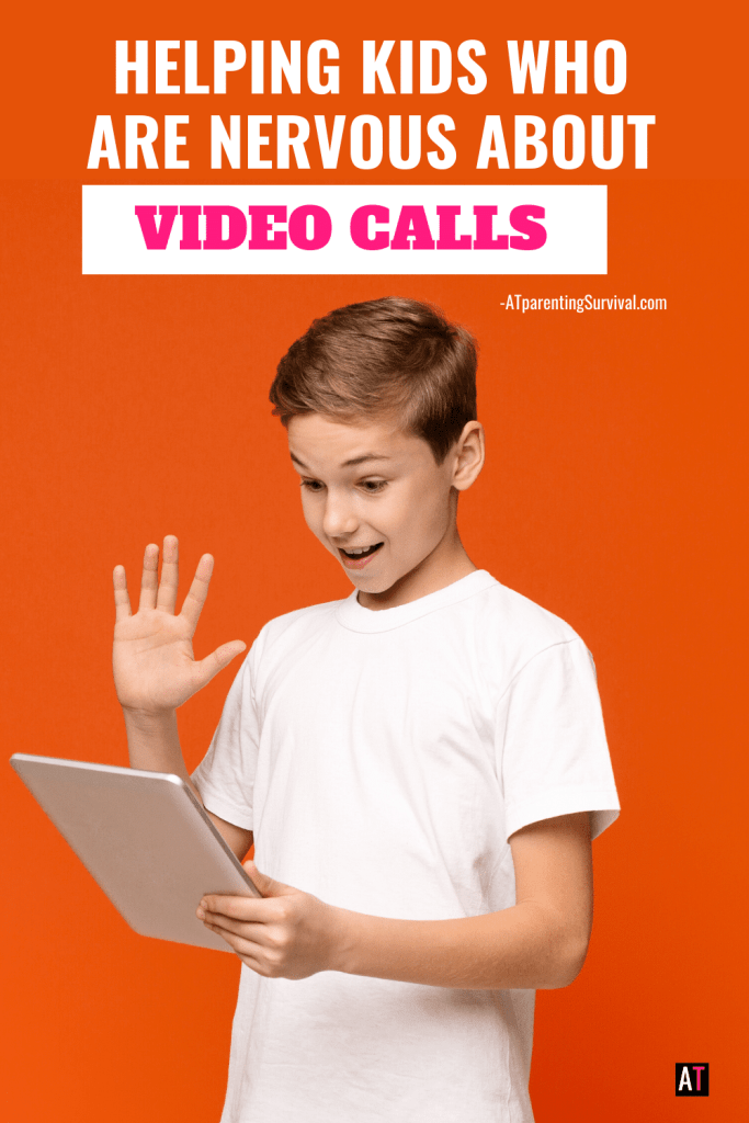 Video calls can be very anxiety producing for socially anxious kids. In this youtube video I talk to kids about how to work through their fears one step at a time.