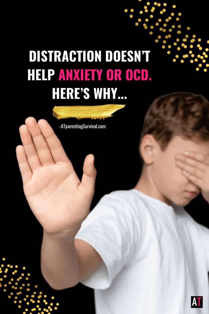 Often kids use distraction to cope with the struggles of anxiety or OCD. In this youtube video I talk about why that isn't the key to long-term success and what is.