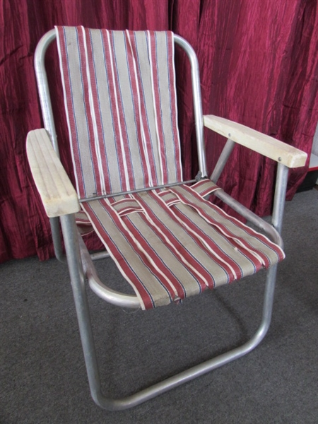 Folding Rocking Lawn Chair