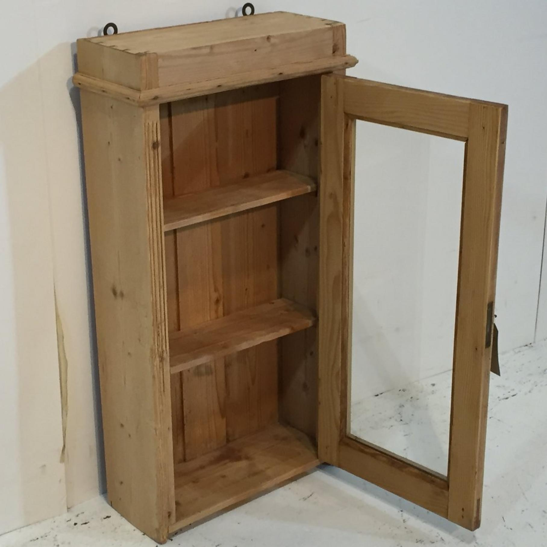 Antique Pine Bathroom Cabinets