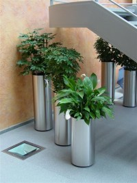 Metal plant holders