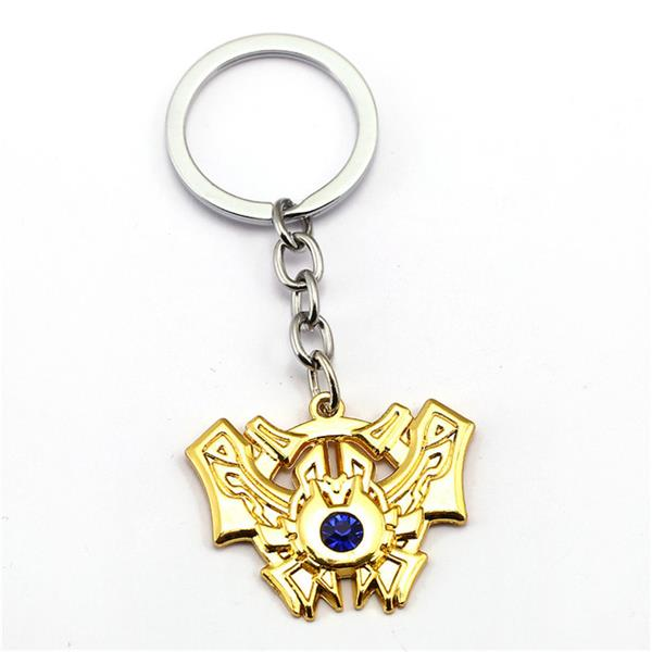 League of Legends LoL Game Hero Rank Keyring Keychain