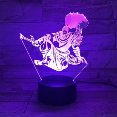 League of Legends LoL Yasuo 7 Colors Touch Sensor Table Lamp