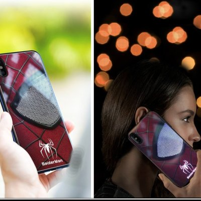 Marvel Spiderman Call Light LED Case For iPhone