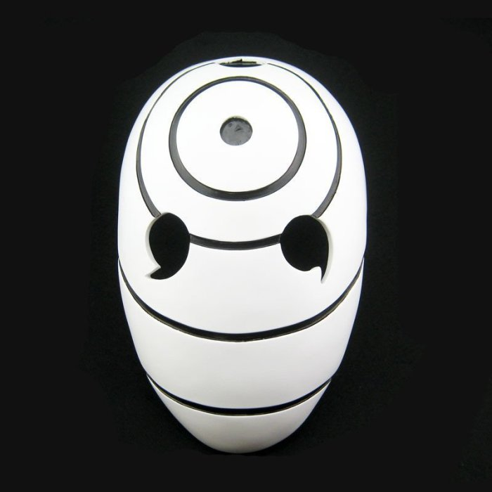 Anime Naruto Obito Mask Cosplay Costume Accessories