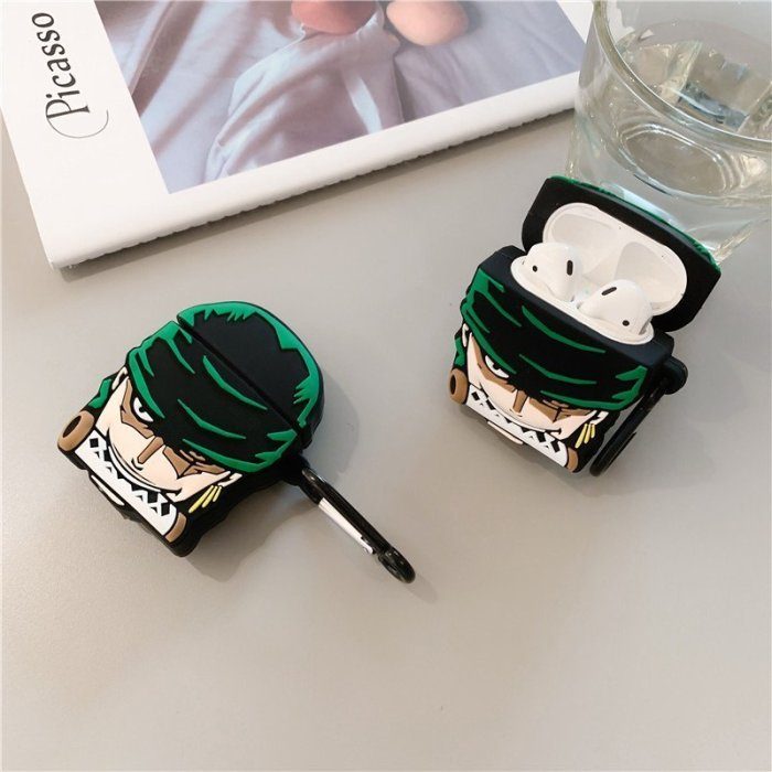 One Piece Zoro Protective Case For Airpods 1 and 2
