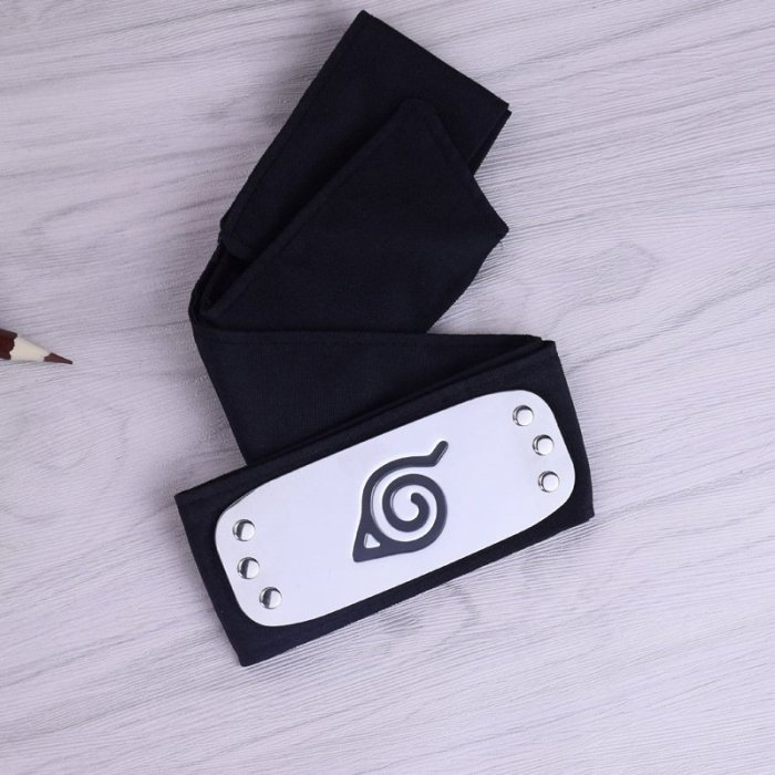 Anime Naruto Forehead Protector Cosplay Costume Accessories