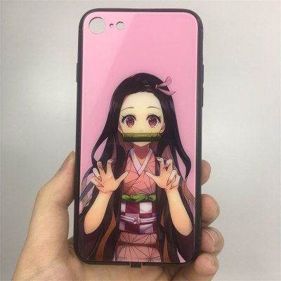 Demon Slayer Nezuko LED Phone Case For iPhone