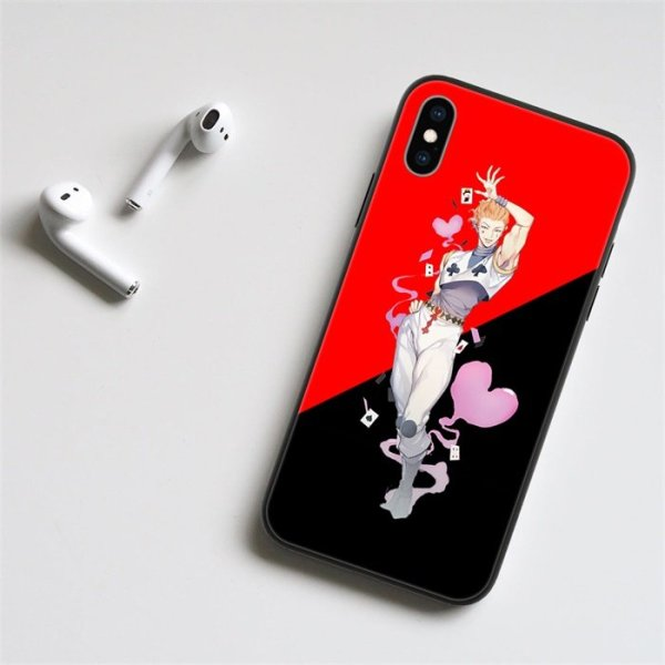Anime Hunter x Hunter Hisoka LED Phone Case For iPhone