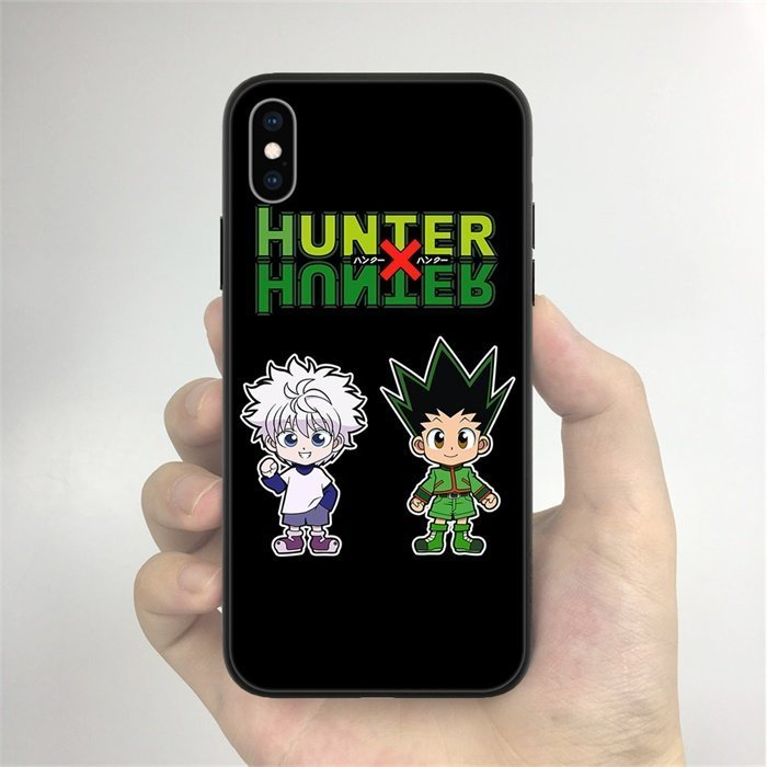 Anime Hunter×Hunter Killua and Gon LED Phone Case For iPhone