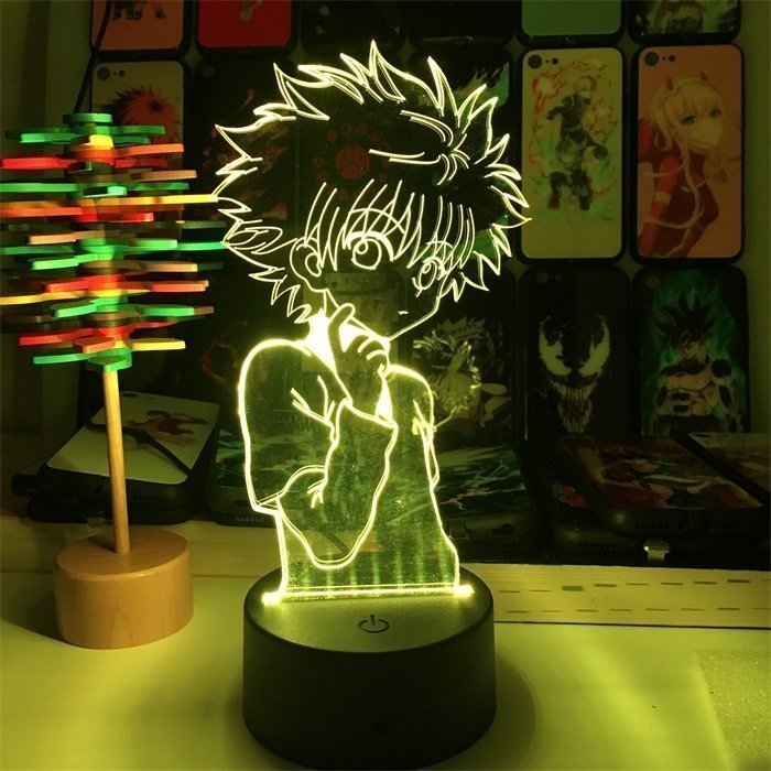 Hunter x Hunter Killua 16 Colors Table Lamp