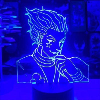 Hunter x Hunter Hisoka 16 Colors Table Lamp