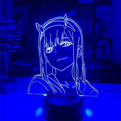 Anime Darling in the Franxx Zero Two 16 Colors Table Lamp