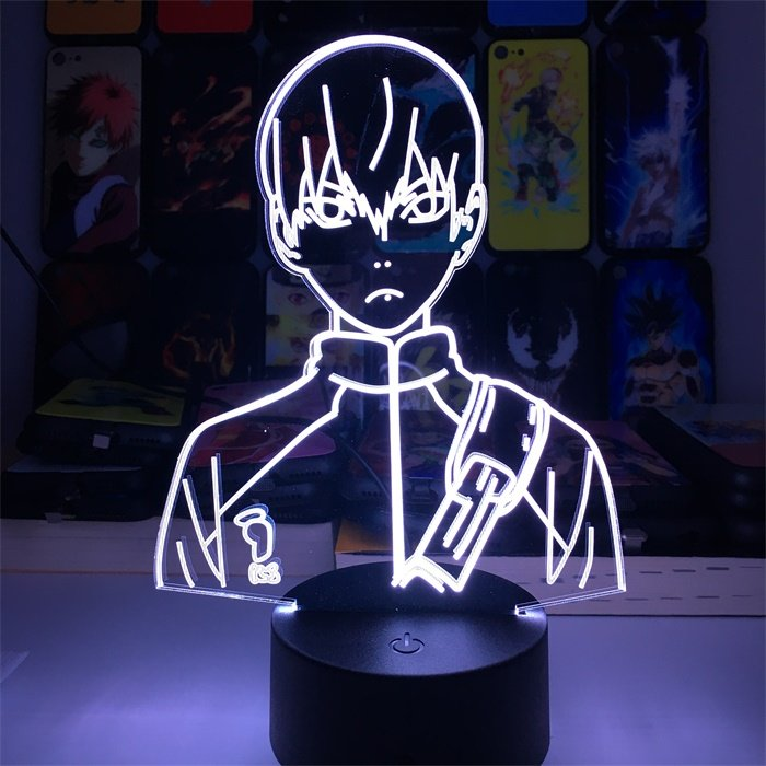 Anime Haikyuu!! Kageyama 16 Colors Table Lamp