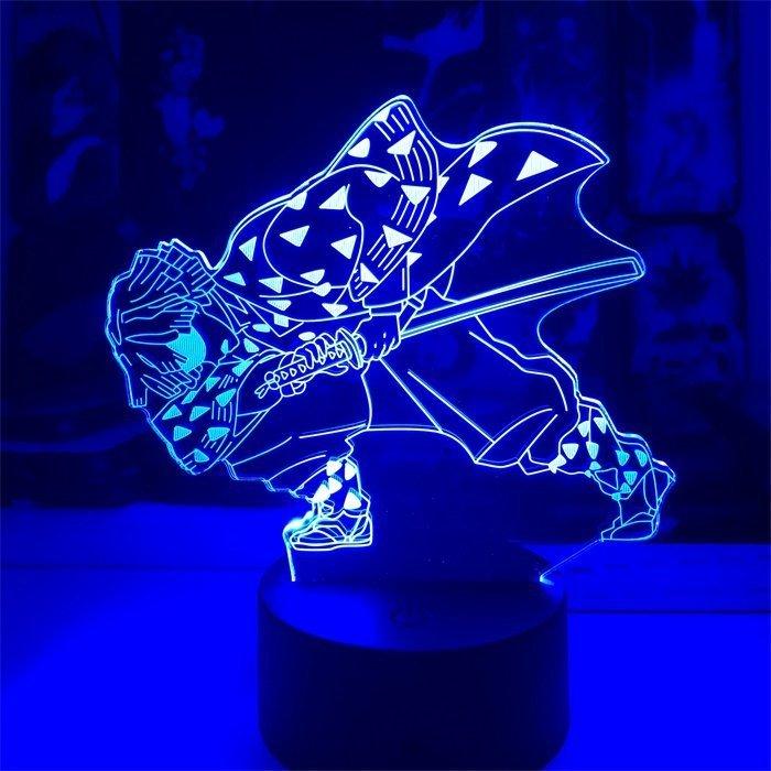 Anime Demon Slayer Zenitsu 16 Colors Table Lamp