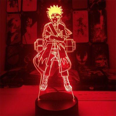 Anime Naruto 16 Colors Table Lamp