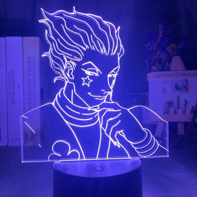 Hunter x Hunter Hisoka 16 Colors Table Lamp