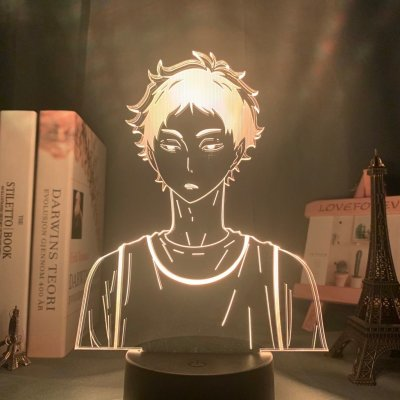 Anime Haikyuu!! Akaashi 16 Colors Table Lamp