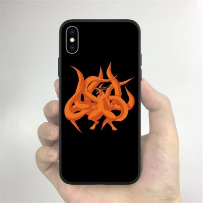 Anime Naruto Kurama LED Phone Case For iPhone