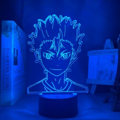 Anime Haikyuu!! Nishinoya 16 Colors Table Lamp