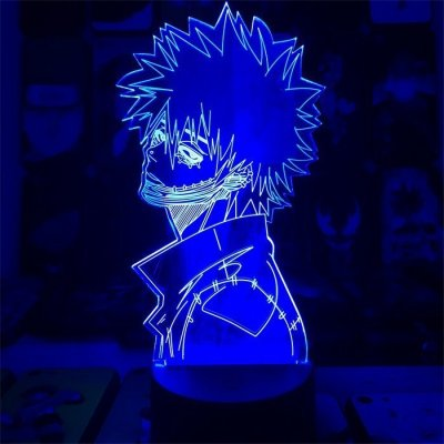 Anime My Hero Academia Dabi 16 Colors Table Lamp