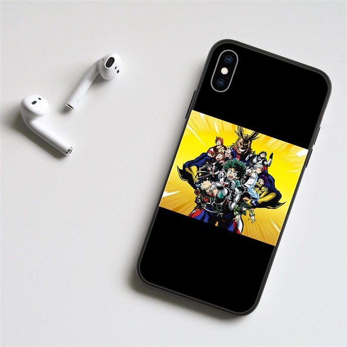 Anime My Hero Academia LED Phone Case For iPhone