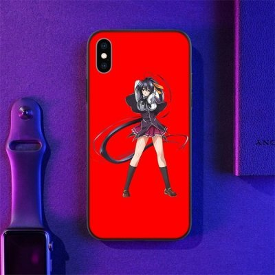 Anime High School DxD Akeno LED Phone Case For iPhone