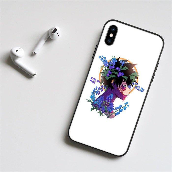 Anime My Hero Academia Dabi LED Phone Case For iPhone