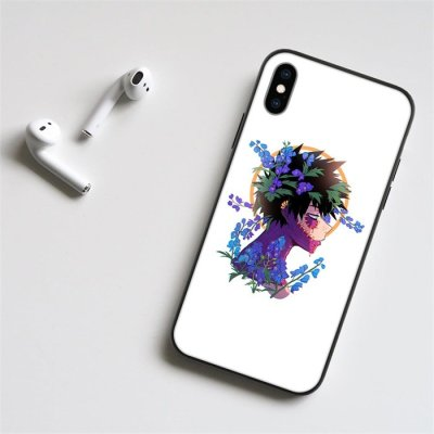 Anime My Hero Academia Dabi LED Phone Case For iPhone