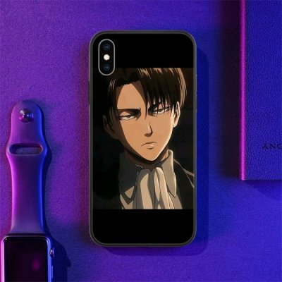 Anime Attack on Titan Levi LED Phone Case For iPhone