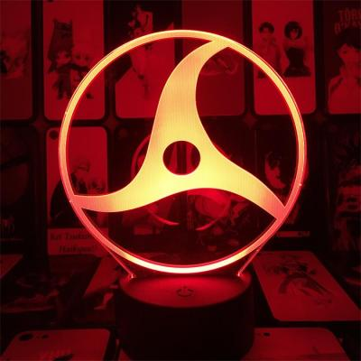Itachi Sharingan 16 Colors Anime Lamp