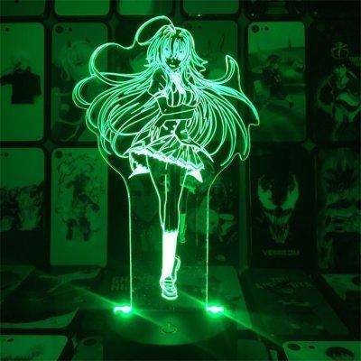 Anime High School DxD Rias 16 Colors Anime Lamp
