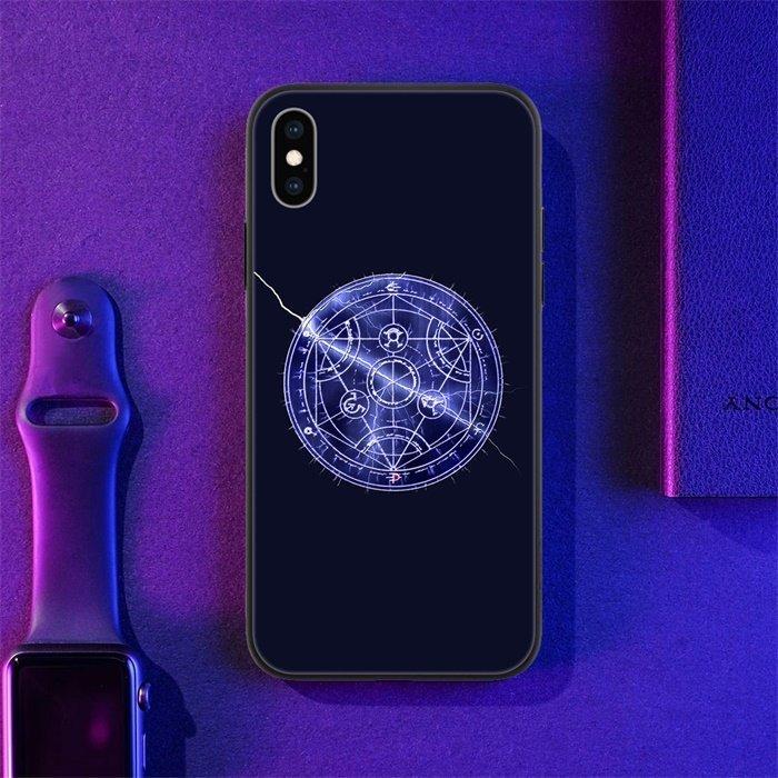 Fullmetal Alchemist LED Phone Case For iPhone