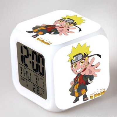 Anime Naruto Digital Alarm Clock