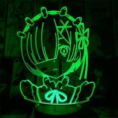Rem 16 Colors Table Lamp