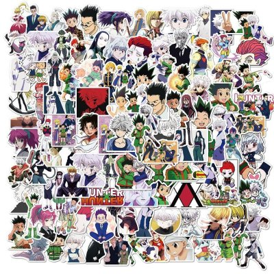100PCS Hunter x Hunter Killua Gon Hisoka Stickers