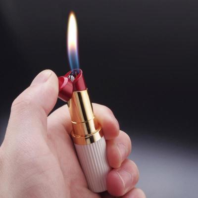 Creative Smoke Lipstick Lighter