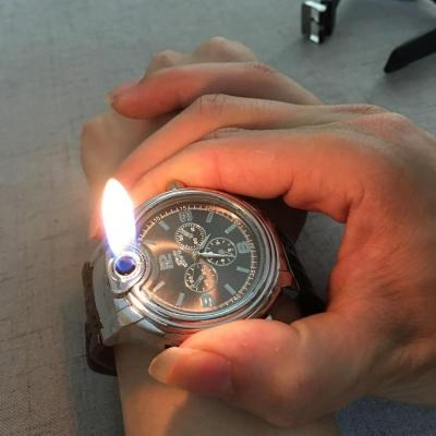 Creative Inflatable Watch Lighter
