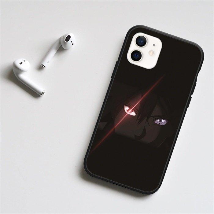 Sasuke Sharingan LED Phone Case For iPhone