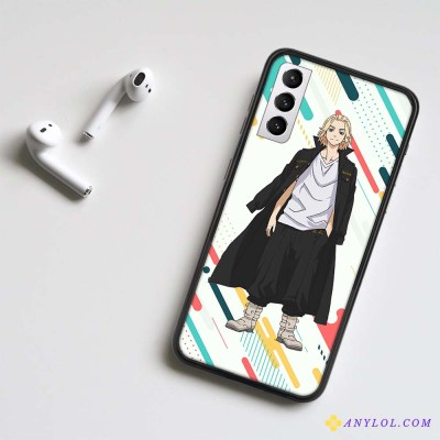 Tokyo Revengers Mikey LED Phone Case For Samsung And Other Android Phones